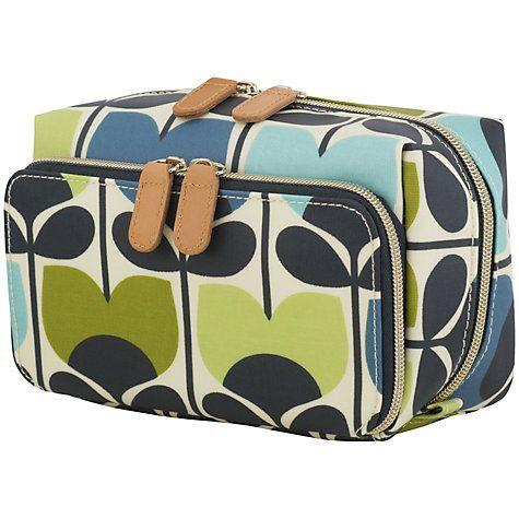 Buy Orla Kiely Climbing Rose Medium Wash Bag Online at johnlewis.com