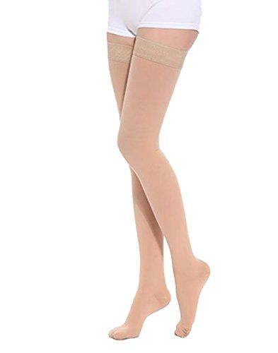 Cheap TOFLY Maternity Thigh High Overnight Mdeical Compression Stockings  Closed toe Slim Leggings for Women -1280D Grade Pregnancy Socks 20-30mmHg Treatment For Swelling Varicose Veins. 1 pair deals week