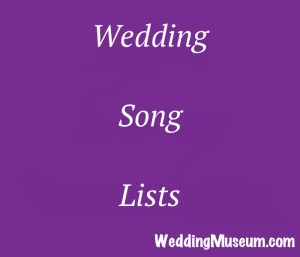 50+ wedding song lists by era, genre, and many wedding related song lists #wedding #songs