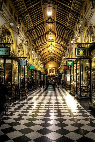 The Royal Arcade - Koko Black - the best chocolate mousse!