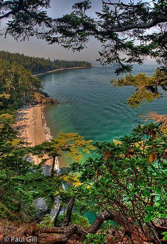 Deception Pass Bay, Washington