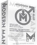 Modern Man Testosterone Boosting Thermogenic Fat Burner Designed for Increasing Lean Muscle and Accelerating Fat Loss while Enhancing Focus (Get in the Zone) and Reducing Stress Scientifically Advanced Ingredients Promote the Ideal Male Physique 60 Capsules