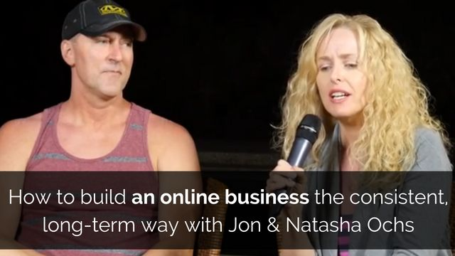 If you are serious about realizing your dreams thanks to online business then this interview can really help...  http://brandonline.michaelkidzinski.ws/how-to-build-an-online-business-the-consistent-long-term-way-with-jon-natasha-ochs/