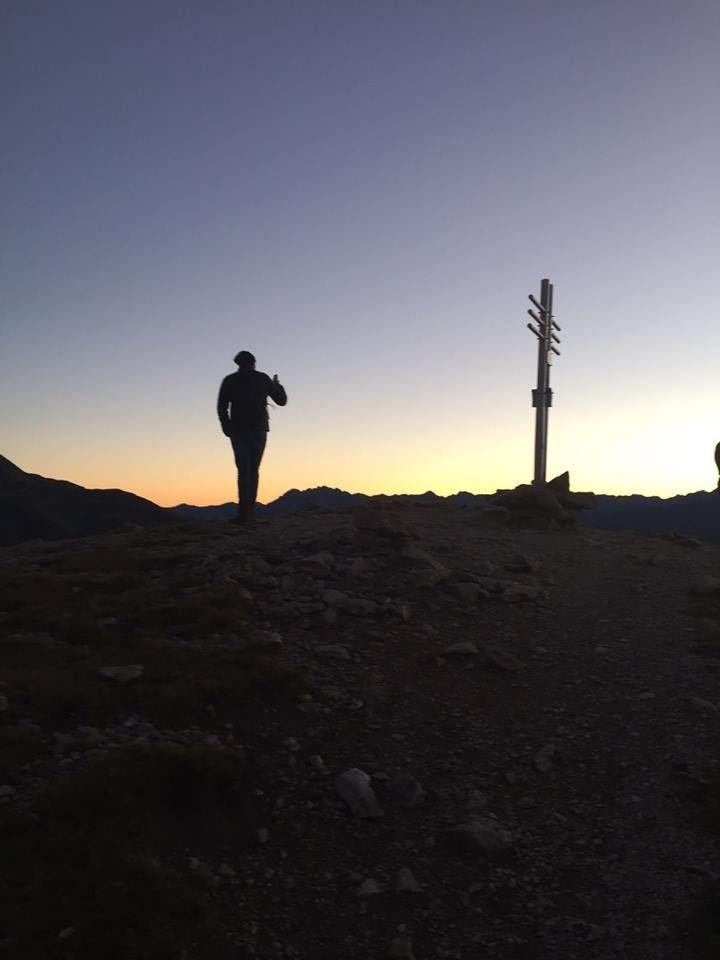 Sonnenaufgangswanderung mit Seniorchef Martin Gerstl