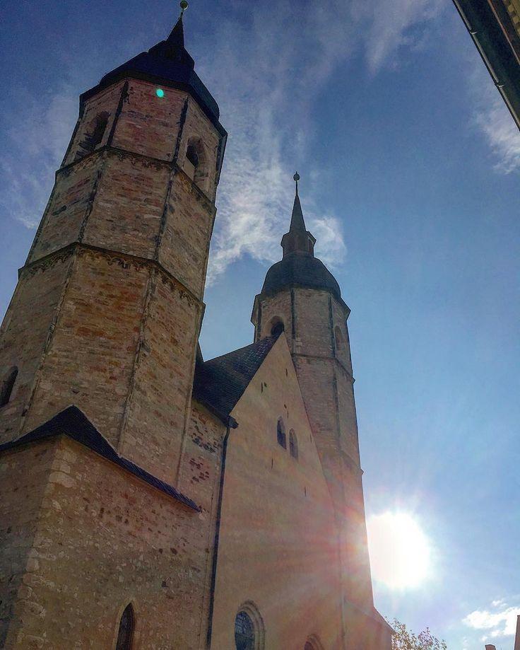 Heute unterwegs in Eisleben  geiles Wetter in Sachsen-Anhalt #geileswetter #saukalt #eisleben #luther #photography #photooftheday #work #mz #follow #love #like #mdrsachsenanhalt