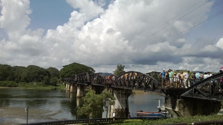 The Bridge of the River Kwai, kanjanaburi
