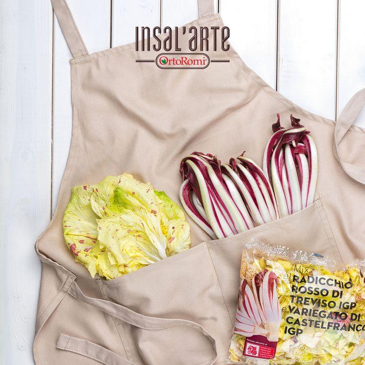 Abbiamo un asso nella manica (anzi, in tasca!) Come usate i nostri Radicchi IGP per le vostre ricette? #food #foodphotography #radicchio #healthyfood #inverno #winter #winterfood #insalarte #ortoromi #radicchiorosso #treviso #insalata #salad