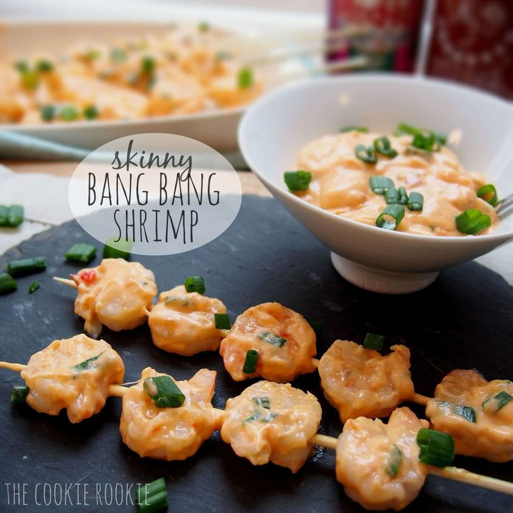 Bang Bang Shrimp are my favorite appetizer from Bonefish Grill. Skinny Bang Bang shrimp are my favorite app to make at home!! You'll never guess they're healthy.