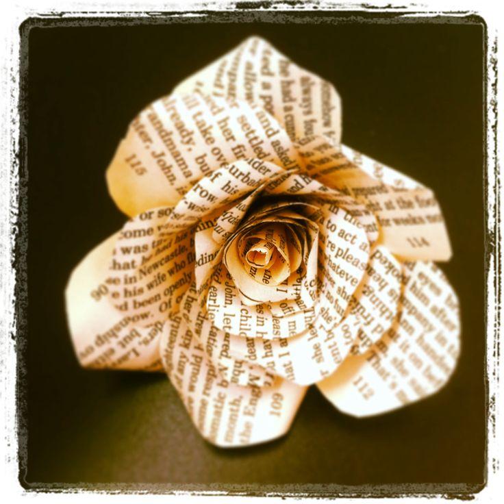 Handmade page rose