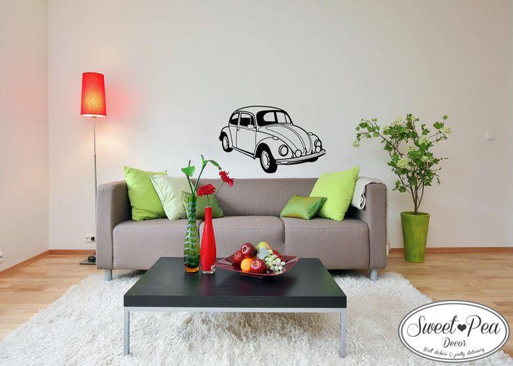 VW beetle (SWP012) by Sweet Pea Decor