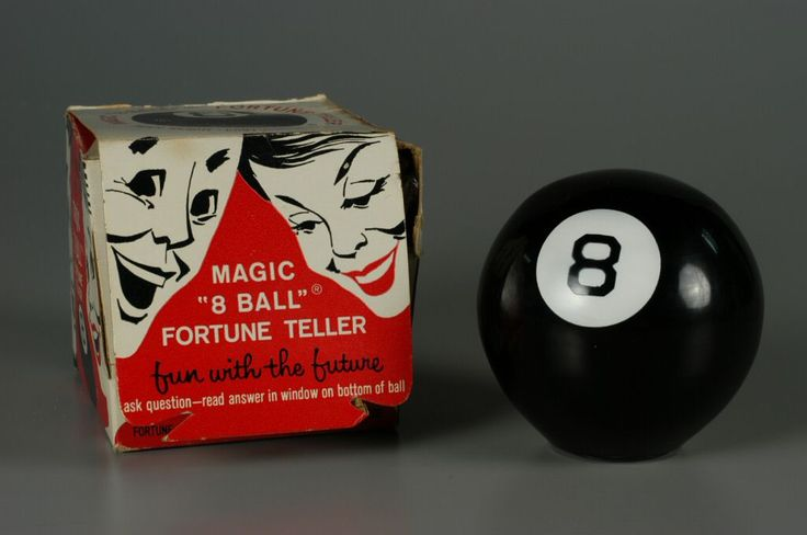 """Does the cutest boy ever like me?"" (""Without a doubt"") Magic 8 Ball"