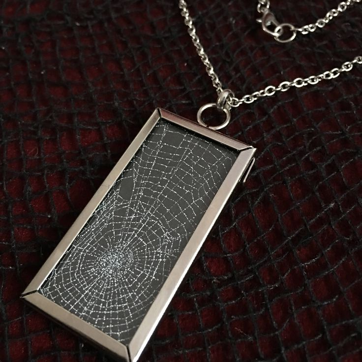 9 best real spider web jewelry images on pinterest spider webs real preserved spider web glass window pendant necklace black goth gothic halloween oddities aloadofball Gallery
