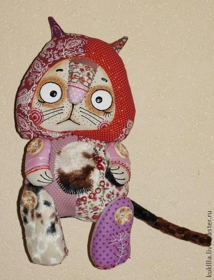 Игрушки животные, ручной работы. Ярмарка Мастеров - ручная работа Котяки. Handmade.