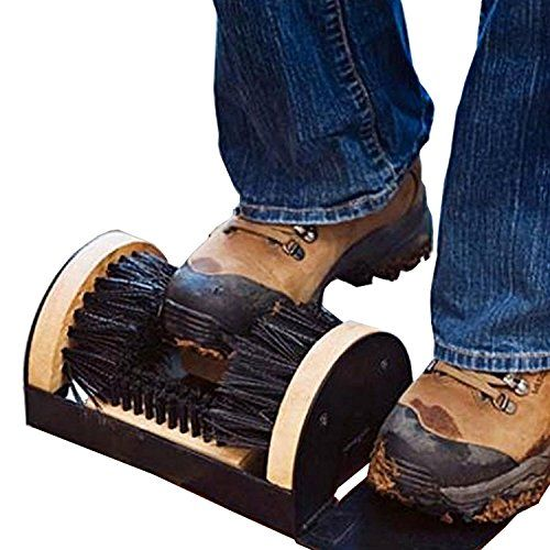 Oanon Boots Shoes Sneakers Mud Dirt Brush Cleaner House Home Scrub Floor Mounted [US STOCK]  A necessity to keep your shoes clean,keep your house clean.  Stiff bristles easy to knock dirt and mud off your boots and shoes,helping keep your home cleaner.  Very durable construction,long time usage.Convenient also for home,shops,hotels,meeting rooms,offices,etc.  Complete with mounting screws and anchors.  Package Content: 1 x Boots Brush, 4 x Anchors, 4 x Screws