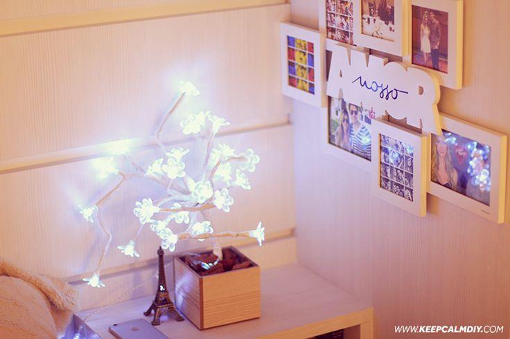 DIY: Como fazer a árvore luminária da Imaginarium | Árvore com flores de luzes