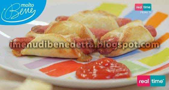 Hot Dog in Pasta per Pizza di Benedetta Parodi