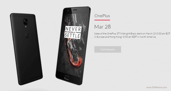 The Midnight Black #OnePlus 3T is coming to Europe!  See how you can get it: http://bit.ly/2ooplo2