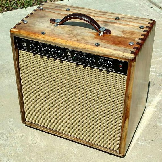 I build handmade cabinets for guitar amplifiers. Solid pine construction with Baltic birch speaker baffle and rear panel. All stainless steel hardware. Machine screws and tee nuts are used on the rear panel and speaker mounts instead of wood screws to prevent stripping. Whether