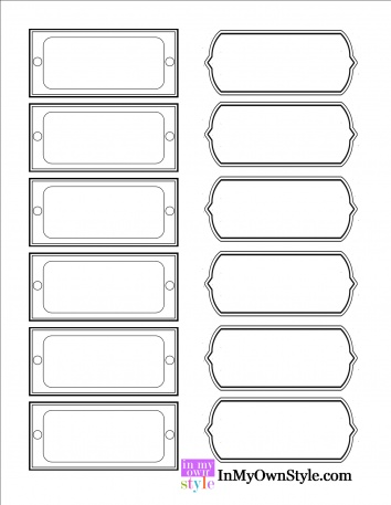 312 best Assorted Household Organizing labels Tags (Most are free - printable medical release form for children