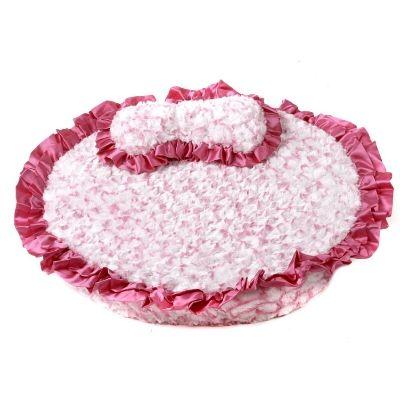 Princess Pink Dog Bed