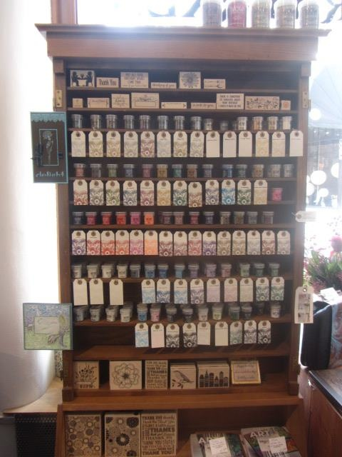 Shop display at Posthumus Winkel in the Netherlands!