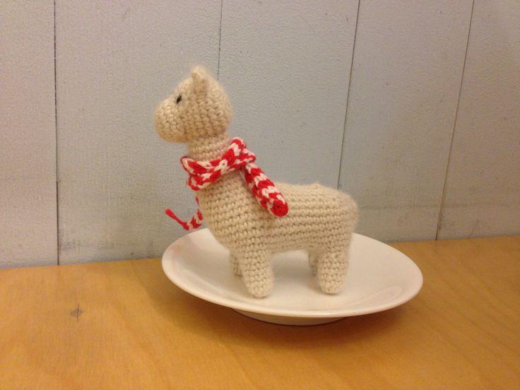 Alpaca knitting doll _ suaveperu