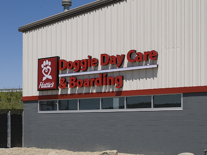 Hattie's Doggie Day Care & Boarding from Brookpark Road in Cleveland, Ohio. The program provides day care, overnight boarding and grooming services for your dog while you're at work or out of town. Hattie's Doggie Day Care & Boarding is a Hattie Larlham vocational program for adults with disabilities. Learn more: http://www.hattielarlham.org/v/doggie-day-care-cleveland.asp