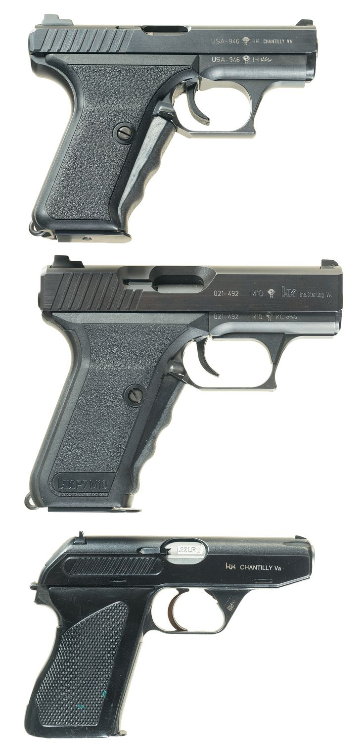 Spp 1 underwater pistol - Heckler Koch Pistols From Top To Bottom Hk P7k3 Hk P7m10