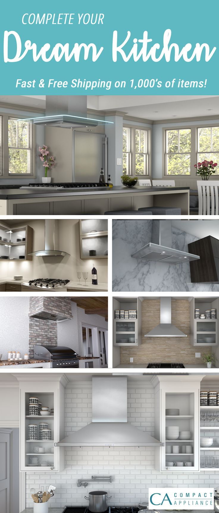 Upgrade Your Liances Range Hoods And Everything Else You Could Need For Dream