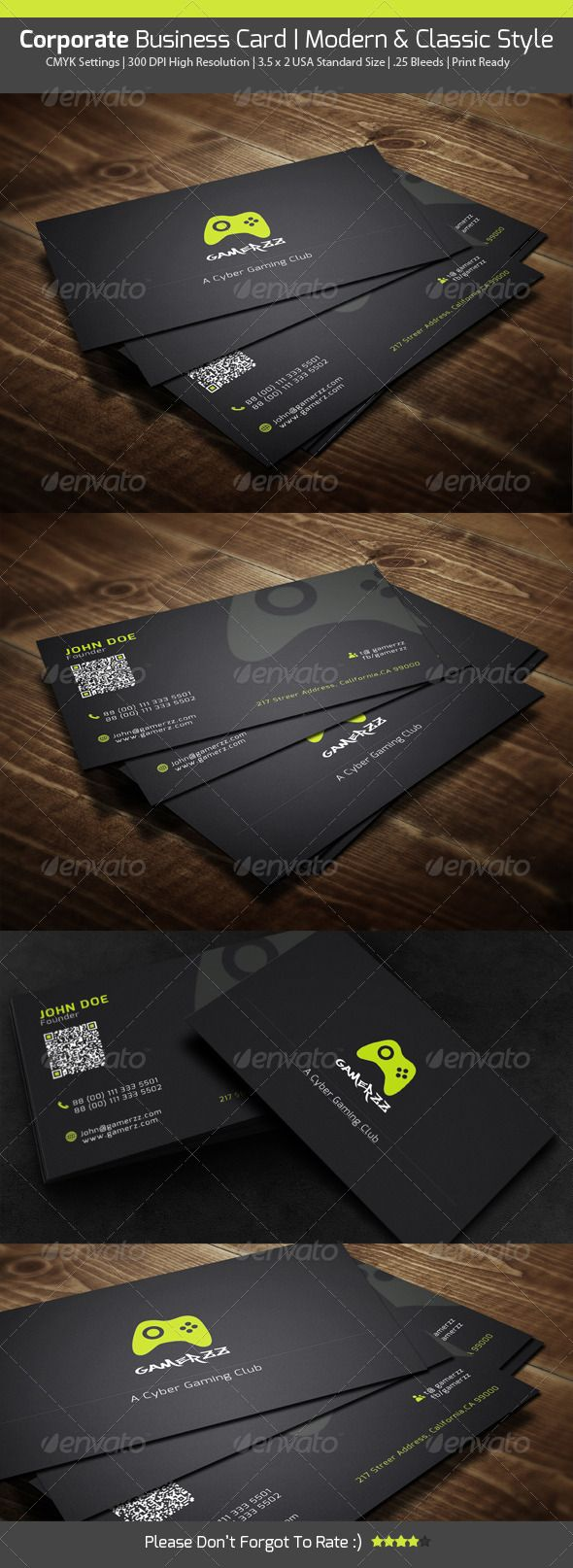 109 best print templates images on pinterest print templates buy gamers business card by abdullahnoman on graphicriver its a gorgeous design what i think so its a unique concept ba reheart Image collections