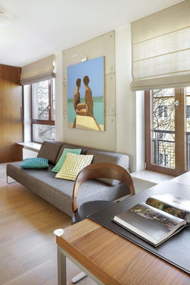 Die besten 25+ Polstersofa Ideen auf Pinterest Sofa, Weiße - wohnzimmer farben modern