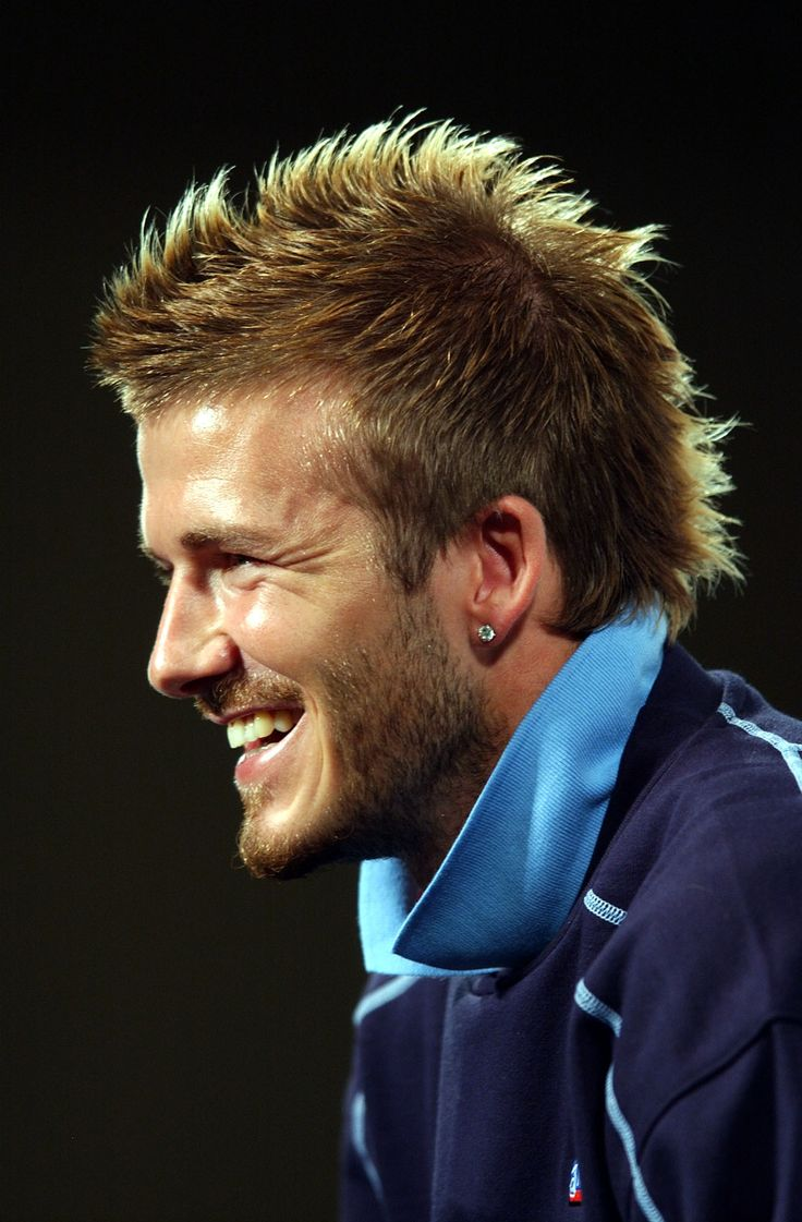 david beckham mohawk mullet images galleries with a bite. Black Bedroom Furniture Sets. Home Design Ideas
