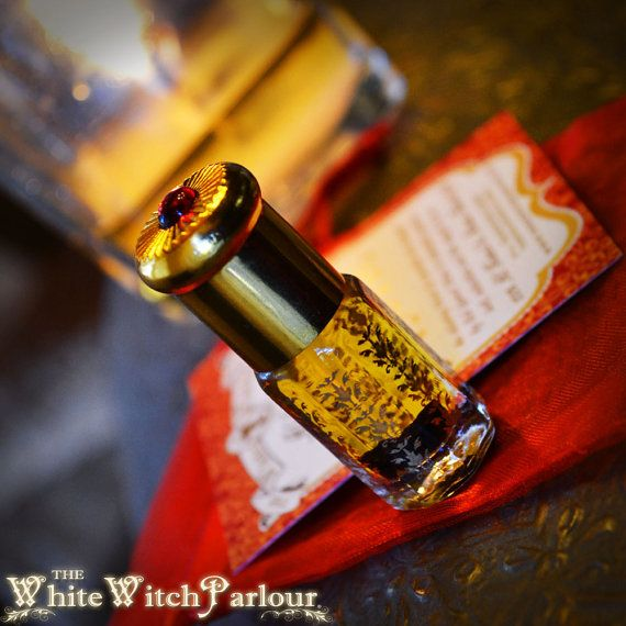 EROTIC MYSTIC. All Natural Alchemy Oil. by WhiteWitchParlour  EROTIC MYSTIC. All Natural Alchemy Oil. Jasmine, Patchouli, Frankincense, Tuberose, night queen with Red Garnet Crystal. sex magic, passion