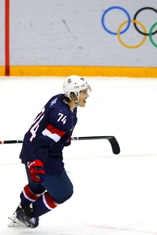TJ Oshie, Team USA, Sochi 2014
