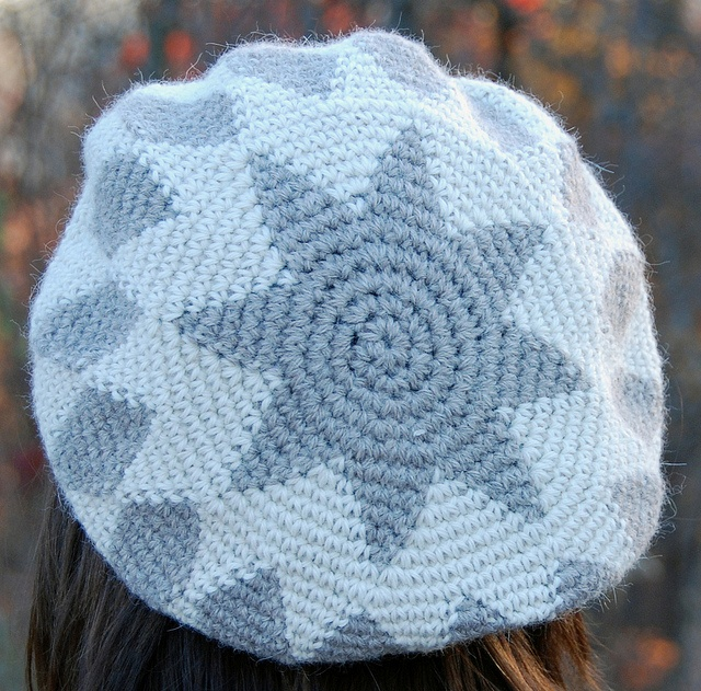 Crochet Star Stitch Hat Free Pattern : 17 Best images about Tapestry Crochet on Pinterest Learn ...