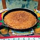 Frittata di maccheroni (pasta omelet)