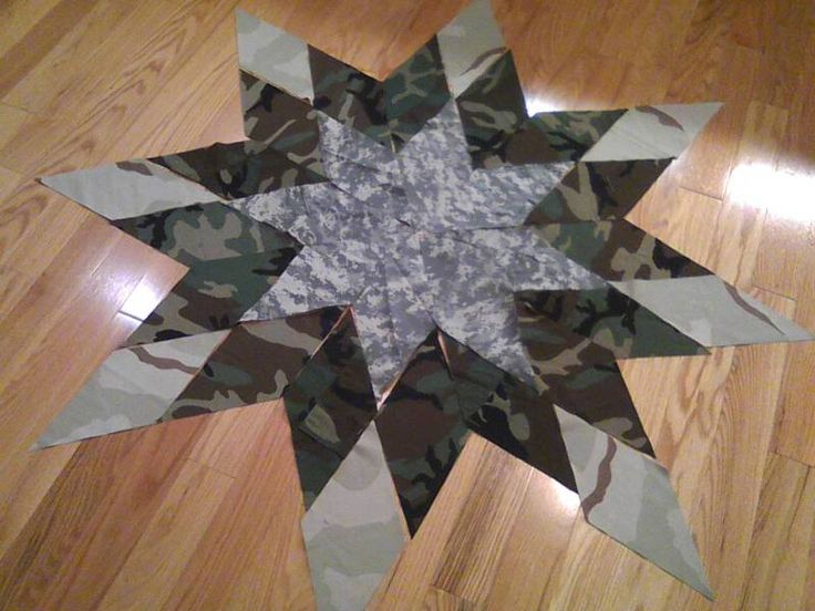 army quilt patterns | Thread: Army Camo Quilt