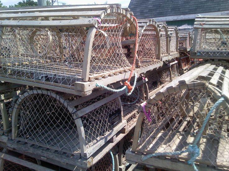 Lobster Cages, Cavendish, PEI