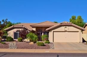 Peoria Arizona Adult Community Homes For Sale  $269,000, 2 Beds, 1 Baths, 1,627 Sqr Feet  If your looking for a great home in a 55+ community, look no further. This 2 bedroom 1.75 bath 1691 SF Westbrook Village home is the one for you. Light neutral kitchen with white washed cabinets and newer appliances. Pot shelves, ceiling fans, security doors and dual paned windows. Newer interior paA complete and FREE UP-TO-DATE list of Phoenix homes for sale in Adult Communities!  http://mike..