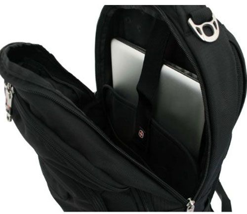 SwissGear Laptop Backpack Review (SA9998 15 Inch) - Review on SwissGear Laptop Backpack, SA9998 (Black) fits most 15-inch laptops. Awesome quality, many pockets and dividers, It can put in two laptops and school textbooks, still looks great.  Having a good bag where you can place your laptop is much better than just having it in the bag that you...