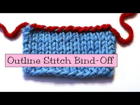 Binding Off Stitches In Knitting : 17 Best images about Fancy Knitting Stitches on Pinterest Herringbone, Vide...