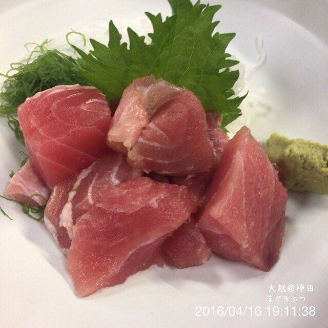 WEBSTA @ ogu_ogu - 160416 大越@神田#まぐろぶつ #sashimi #maguro #居酒屋 #神田 #大越 #dinner #晩飯 #夕食  #japanesefood #和食 #foodporn #instafood #foodphotography #foodpictures #food #webstagram #instagram #foodstagram #foodpics #yummy #yum #food #foodgasm #foodie #instagood #foodstamping #sharefood #delicious