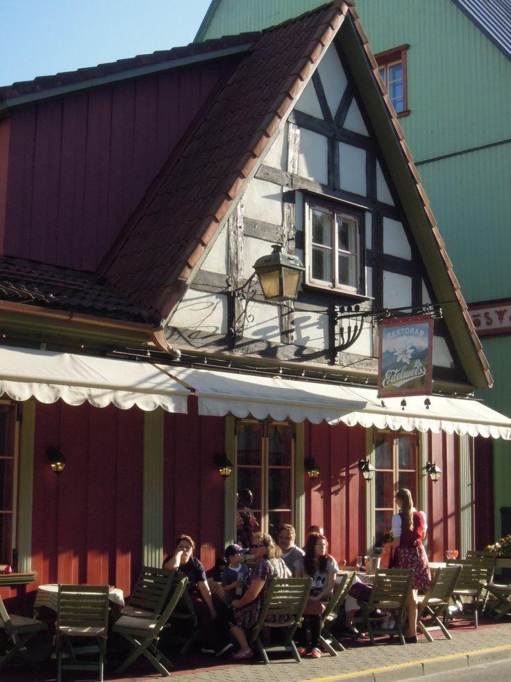 Restaurant `Edelweiss´ in Pärnu, Estonia