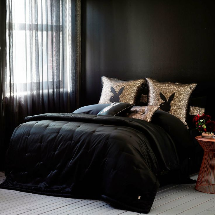 Mansion Collection by Playboy Classic Coverlet - Bedroom Quilt Covers & Coverlets - Adairs Online on Wanelo