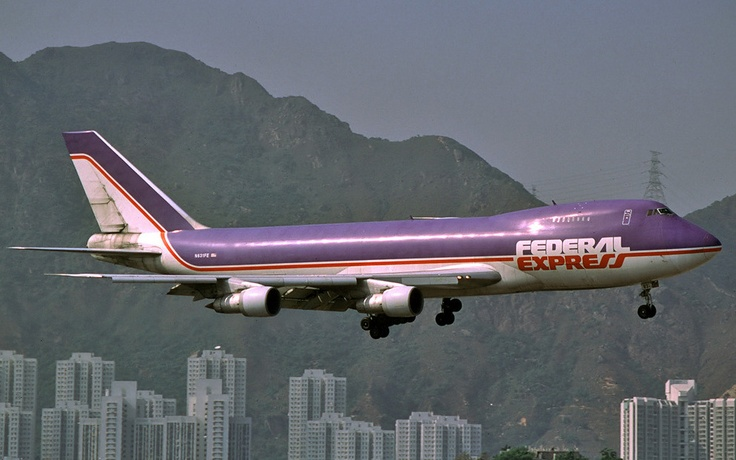 FedEx (Federal Express/Flying Tigers) Old 747