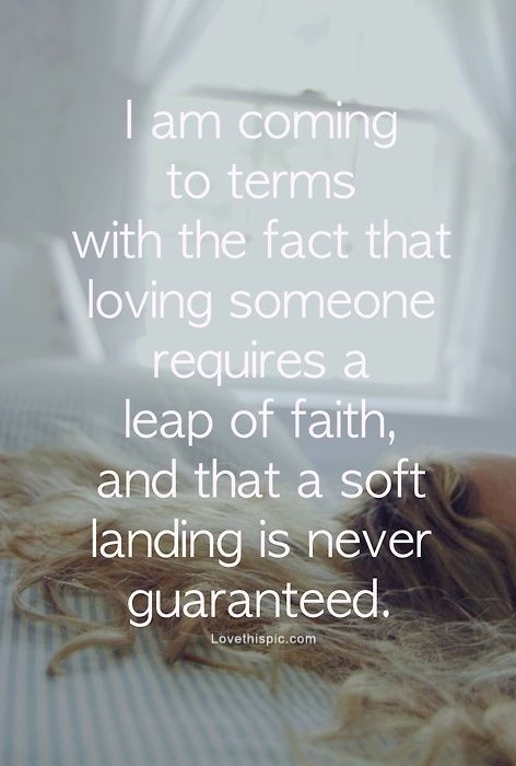 leap of faith relationship quotes