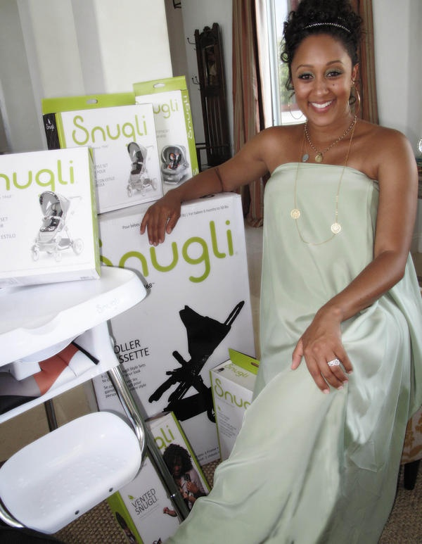 Celeb Baby Showers Part - 21: Snugli Sent Her Lots Of Products Which Tamera Tweeted To Her Nearly 800,000  Twitter Followers.