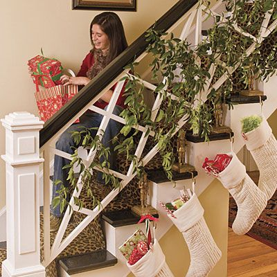 96 Best Christmas ~ Bannisters Images On Pinterest | Merry Christmas Love,  Christmas Decor And Christmas Time
