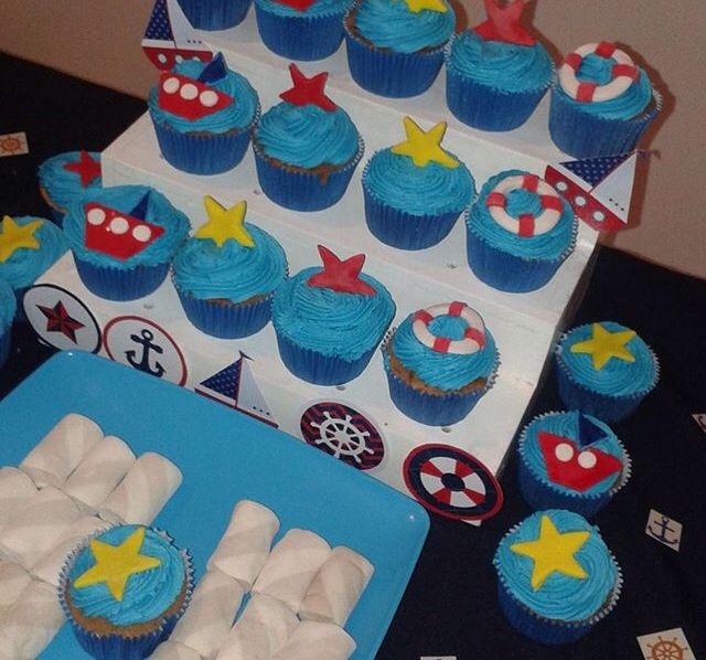 Cupcakes marinero
