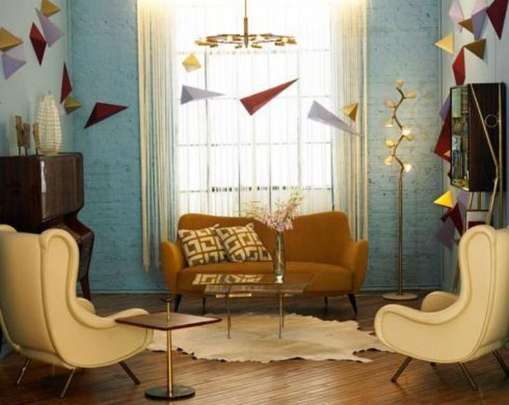 108 best retro living room images on pinterest